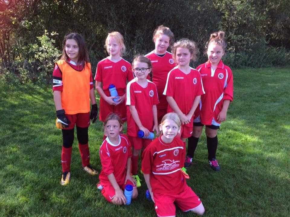ecc8d80ae UNDER 11 GIRLS  KINGFISHERS  2018-19 SEASON - Hutton Football Club